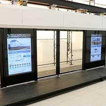 JR西日本,フルスクリーンホームドアの1次試作機が完成
