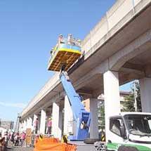 11月23日鷲宮保守基地で「新幹線工事用車両の特別公開」開催