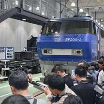 京都鉄道博物館でEF200形・シキ800形のお別れセレモニー開催
