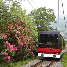 箱根登山ケーブルカー,現役車両引退記念でラストランヘッドマークを掲出