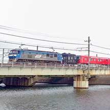 東京メトロ2000系第16編成が甲種輸送される