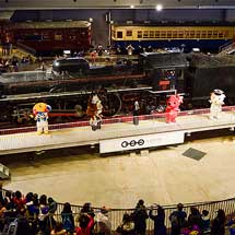 鉄道博物館で『千葉の観光は元気です!復興応援キャラバンin 鉄道博物館』開催