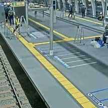 銀座線渋谷駅,大晦日・元日も工事が進む