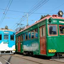 阪堺電軌,正月輸送でモ161形4両が稼働