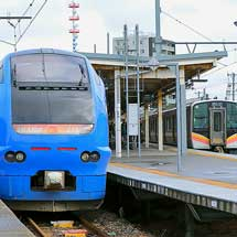 E653系U106編成が白山駅へ回送される