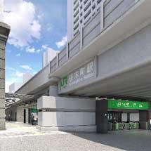JR東日本,6月下旬から桜木町駅新改札口の使用を開始〜JR桜木町ビル内に110形蒸気機関車を展示〜