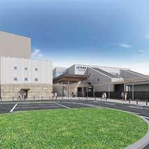 JR西日本,2月22日から学研都市線野崎駅橋上駅舎の一部供用開始