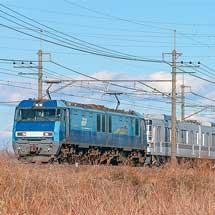 もと東京メトロ03系6両が甲種輸送される