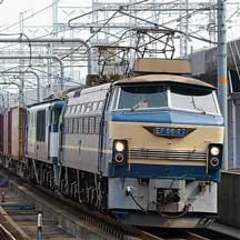 EF66 27が2077列車をけん引