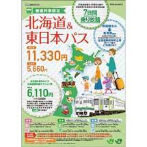 JR北海道・JR東日本「北海道&東日本パス」「北海道&東日本パス北海道線特急オプション券」を発売