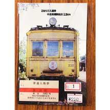 上毛電鉄「2ならび入場券」発売