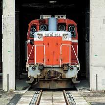 2月22日〜24日津山まなびの鉄道館で「転車台回転実演イベント」実施