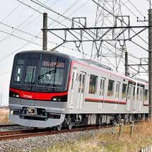 東武70090形が試運転で加須へ