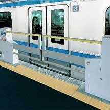2月29日から京浜東北線蕨駅でホームドアの使用を開始