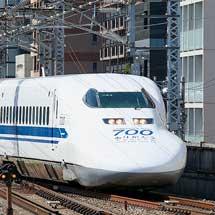 """700系を使用したツアーが開催される3月8日の""""のぞみ""""315号は運休"""