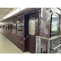 京都鉄道博物館でスシ28 301の車内公開