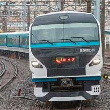 """E257系2000番台,特急""""踊り子""""で営業運転を開始"""