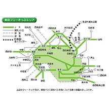 JR東日本,「東京フリーきっぷ」をSuicaで発売