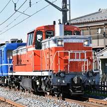 DE10 1099+14系客車3両が南栗橋へ