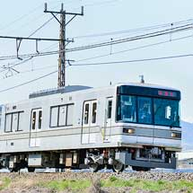長野電鉄3000系の試運転が始まる