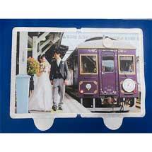 ブラザー工業,三陸鉄道車内で東北の笑顔写真の掲示を開始