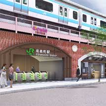 JR東日本,3月24日から有楽町駅改札内新通路などの供用開始