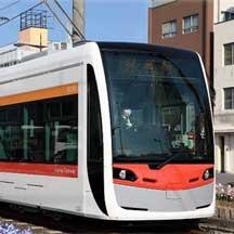 阪堺電軌,3月28日から新形車両「1101形」の営業運転を開始