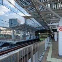 AGC,太陽光発電ガラスを山手線 高輪ゲートウェイ駅に納入