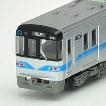トミーテック,鉄道コレクション「名古屋市交通局鶴舞線3050形」の試作品を公開