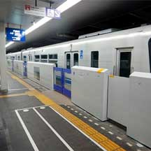大阪モノレール,宇野辺駅で可動式ホーム柵の設置に着手