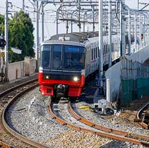 名鉄犬山線布袋駅付近下り線が高架化される