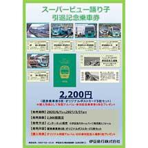 伊豆急・JR東日本「(第2弾)さよならスーパービュー踊り子引退記念乗車券」発売