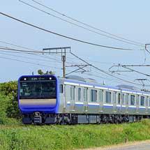 横須賀線向けE235系1000番台が試運転を実施