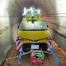 「鉄道版インフラドクター」を伊豆急行線のトンネル検査に導入