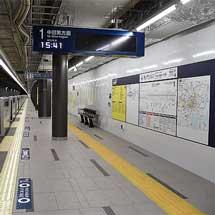 東京メトロ,日比谷線・虎ノ門ヒルズ駅が開業