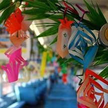6月15日〜7月7日水島臨海鉄道で「七夕列車」を運転