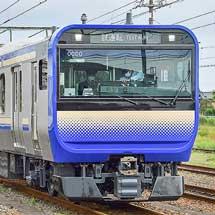 E235系1000番台の増結編成が登場