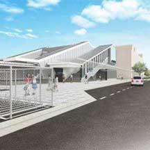 JR西日本,奈良線山城青谷駅の橋上駅舎など駅設備の概要を発表