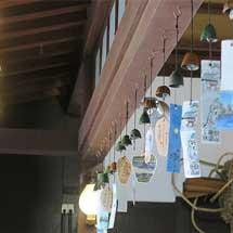 6月20日〜9月30日叡電・三鉄「悠久の風~南部風鈴によせて~」開催