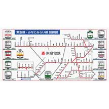 東急,「東急線・みなとみらい線 路線図バスタオル」など電車グッズ新商品4アイテムを発売