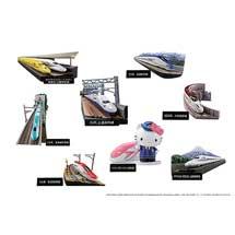 新幹線ミニジオラマフィギュア「月刊『鉄道ファン』監修 日本の新幹線コレクション02」発売