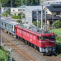 E531系K451編成が秋田総合車両センターへ