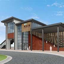 JR東海・近鉄・養老鉄道桑名駅自由通路と橋上駅舎の供用を8月30日から開始