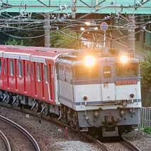 東京メトロ2000系第24編成が甲種輸送される