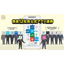 鉄道公式スマホアプリ連携が12社局に拡大〜新京成・東京都交通局との連携を開始〜