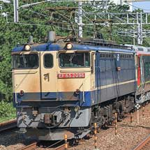 JR四国2700系9両が甲種輸送される