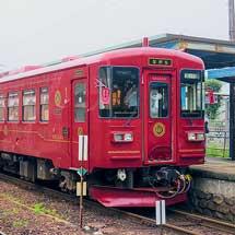ナガラ301「ながら/森」号が定期列車に充当される