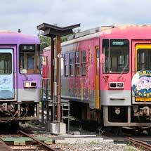 北条鉄道で法華口の行違い設備設置にともなう習熟運転