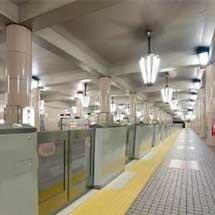 大阪市高速電気軌道御堂筋線全駅・四つ橋線大国町駅に可動式ホーム柵を設置