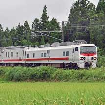 E491系「East i-E」とマヤ50 5001が,えちごトキめき鉄道線を検測